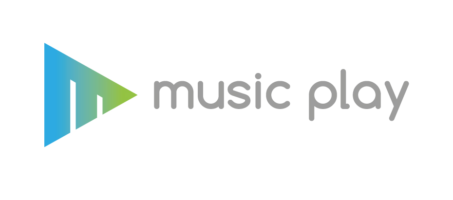 Logo-Music-play-blue-gradient-on-white